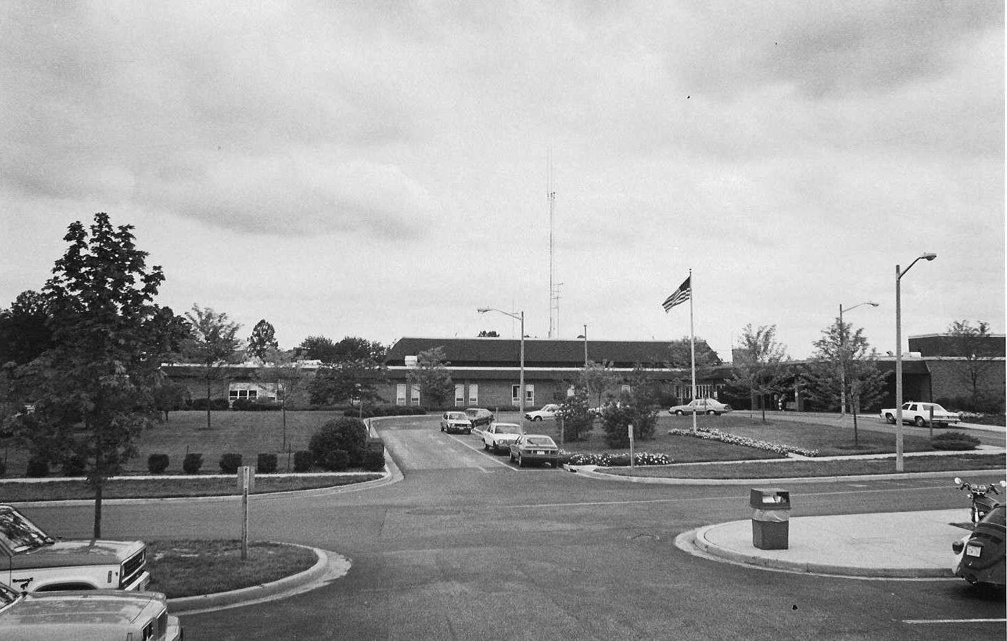 Front of Hospital 1972